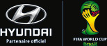 Hyundai partenaire officiel FIFA WORLD CUP Brazil